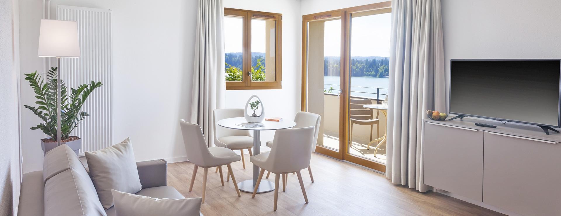Suite appartement Les Rives Sauvages Malbuisson