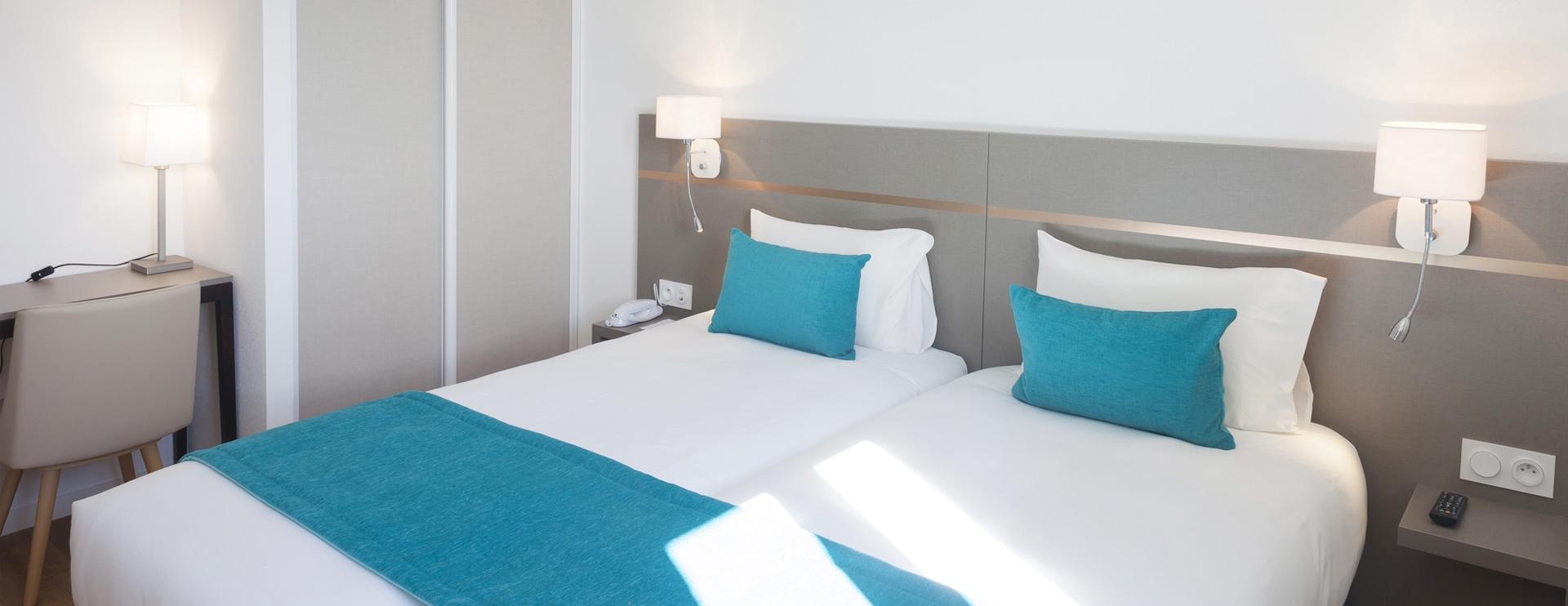Chambre hôtel spa Les Rives Sauvages Haut-Doubs